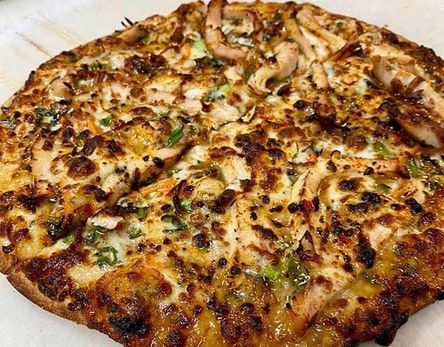 BillyQ's Thai Chicken Pizza