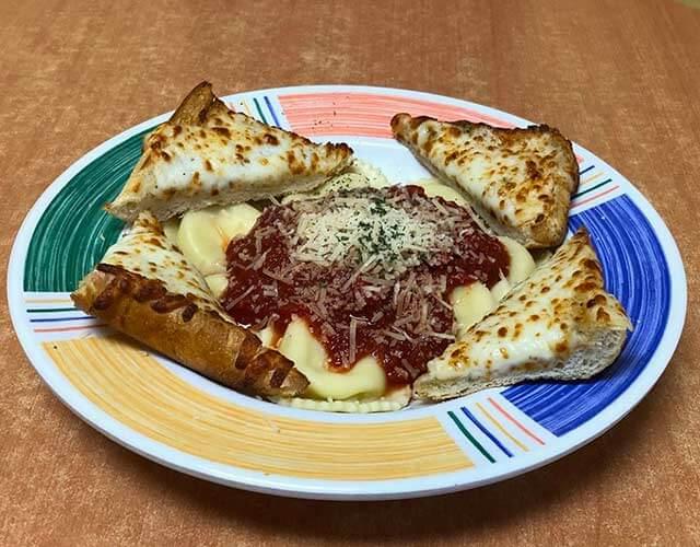 BillyQ's Four Cheese Ravioli